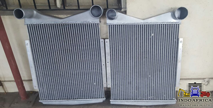 AIR CHARGE COOLERS AND OIL COOLERS