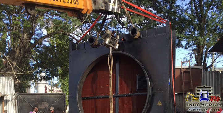 HEAVY MACHINERY COOLING SYSTEM